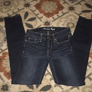 "American Eagle ""skinny"" jeans size. 2"